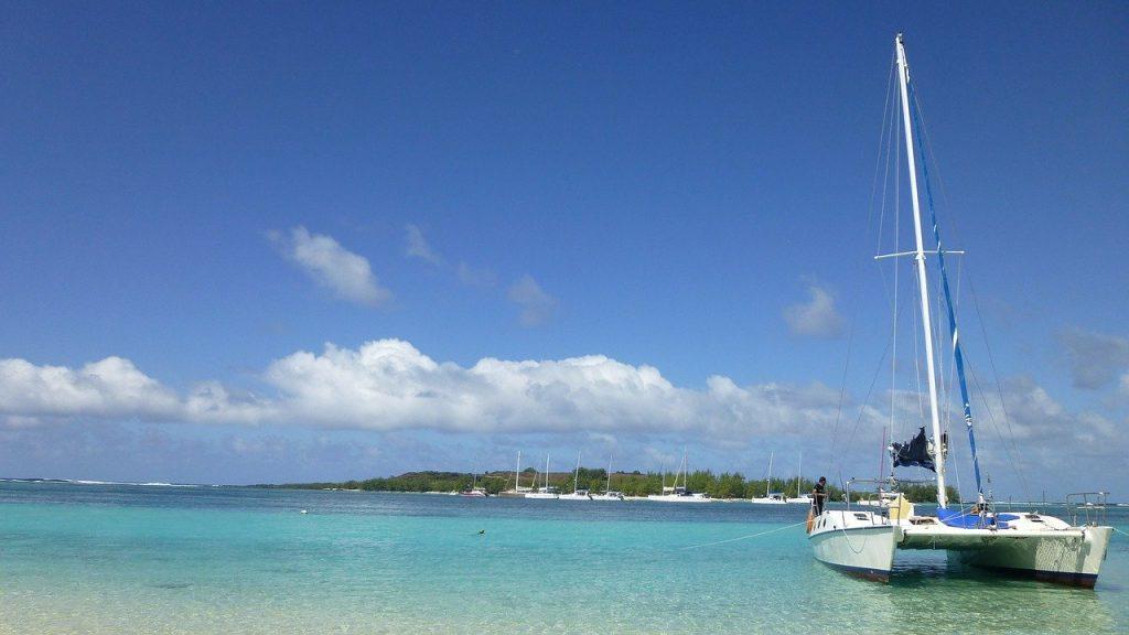 Catamaran à l'Ile aux cerfs - Ile Maurice