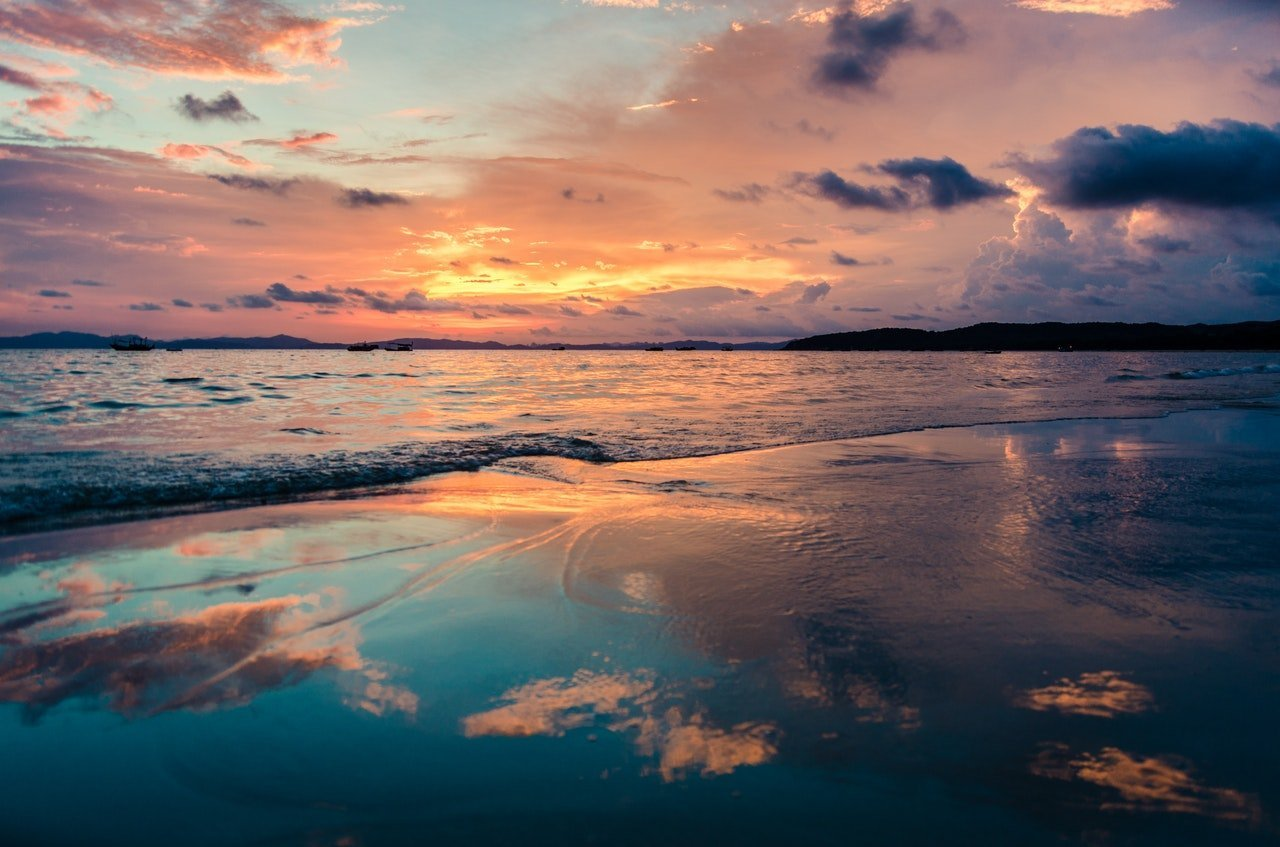 La plage de Pointe-aux-Piments