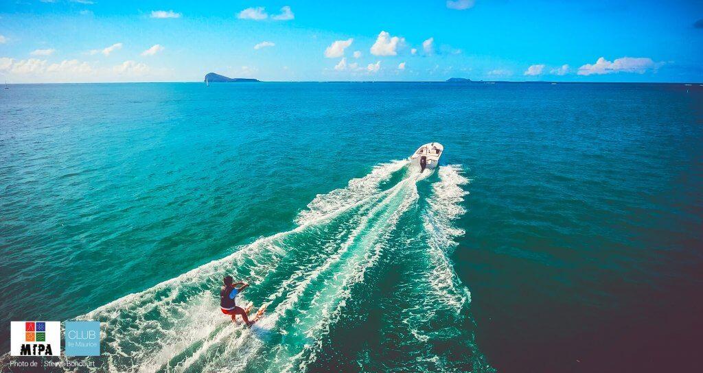 Sport nautique - ile maurice