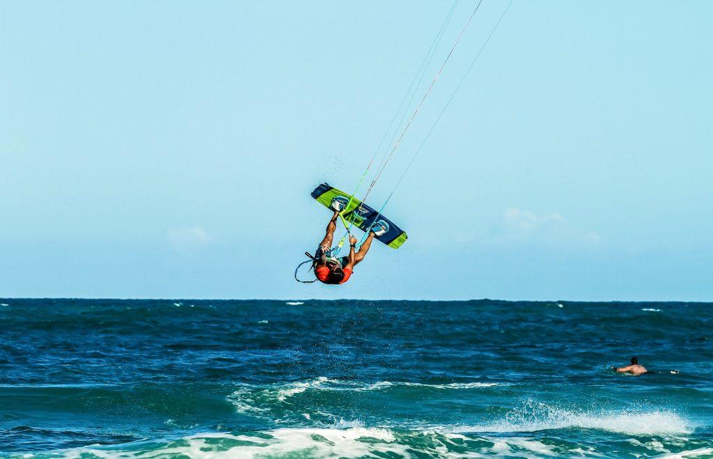 Kitesurf à l'Ile Maurice