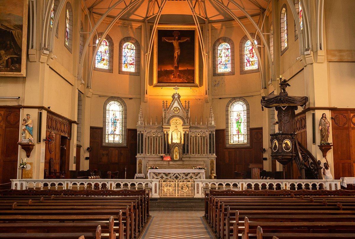 Entree de la Cathédrale Saint-Louis